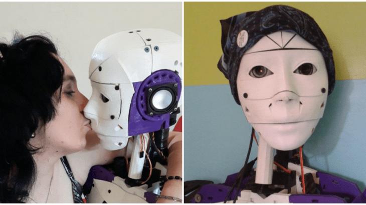 フランス人女性が3Dプリンターで恋人自作!?ロボット彼氏と同棲中