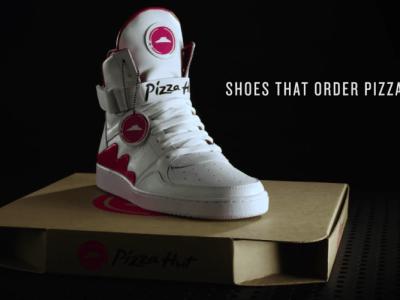 ピザを注文できる魔法のスニーカー