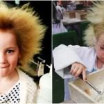 世にも奇妙なくせ毛少女の物語「クシでとかせない毛髪症候群」の日常