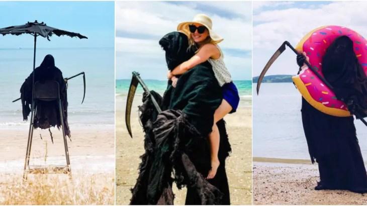 美女とビーチで○○…リア充な死神がインスタグラム始めた理由とは?