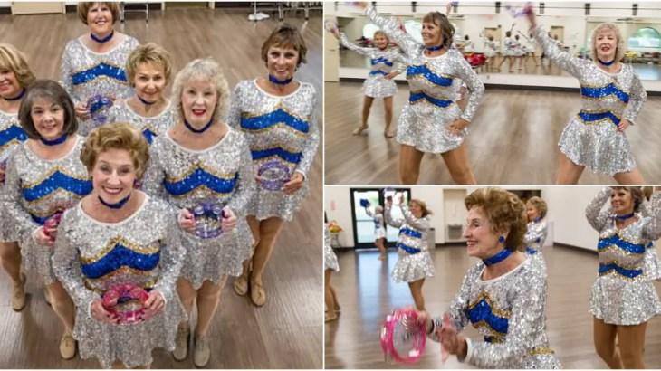平均年齢70歳のチアリーダー軍団がド派手な衣装でチアダンス!