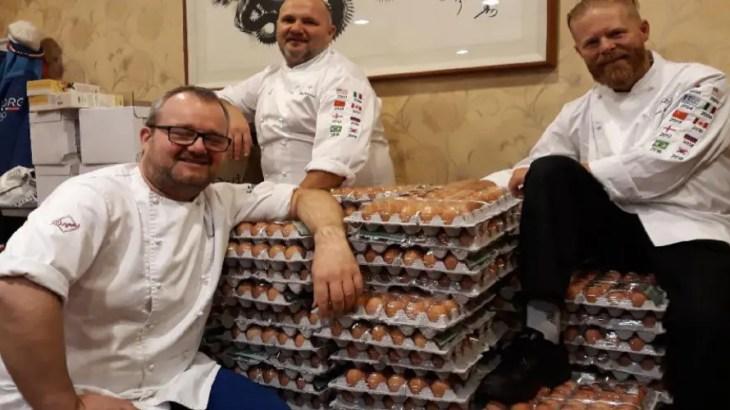 平昌五輪で卵事件!ノルウェー人が韓国語ミスで卵15000個を誤発注
