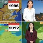 「永遠の女神様」中国で人気の美魔女お天気お姉さんは歳を取らない