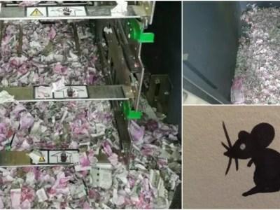 インドの紙幣バラバラ事件