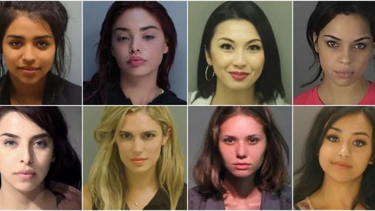 殺人から万引きまで「美人犯罪者のマグショット」専門Instagram人気アカウント