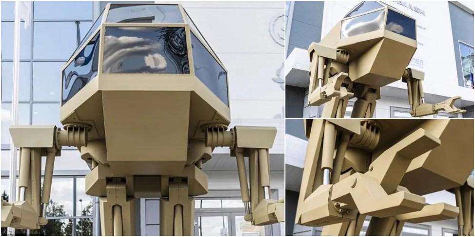 ロシアの兵器会社が二足歩行ロボット戦士を開発