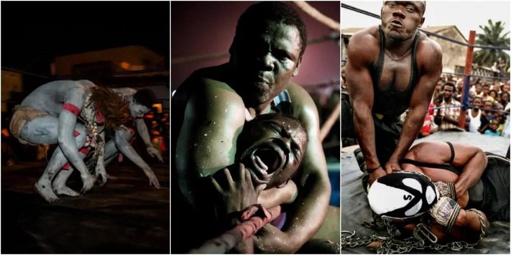 宗教と格闘技が融合したブードゥーレスリング大人気