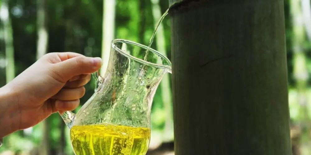 中国でブームの酒が飲める竹