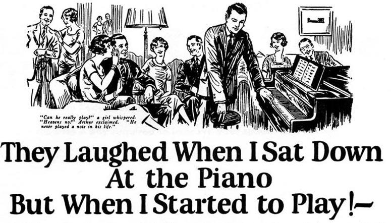A técnica não é nova, John Caples, criou o anúncio acima usando curiosidade para chamar atenção para seu texto.