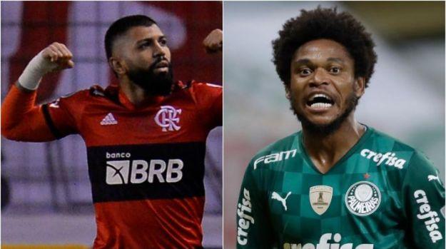 Flamengo x Palmeiras: Como assistir AO VIVO esse duelo do Campeonato Brasileiro. (Foto: Getty Images)