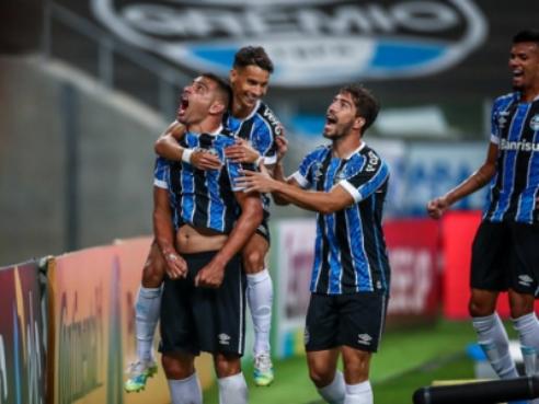 Grêmio jogará pelo empate. Foto: Lucas Uebel/Grêmio