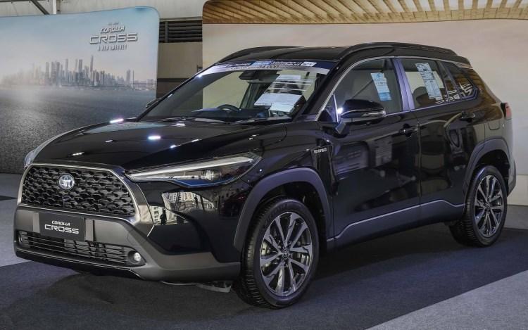Toyota Corolla Cross Saiba os carros que serão lançados no Brasil em 2021