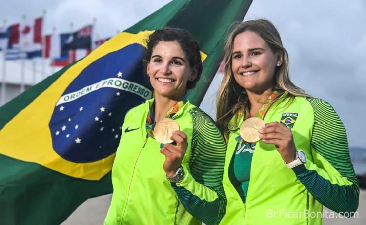 os atletas brasileiros martine