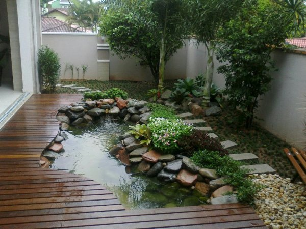 Landscaping Small Ponds