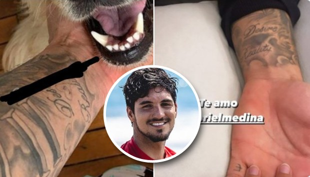 After all the confusion between Bufoni and Medina and Yasmin, he preferred to hide the tattoo they would have in honor of their friend. (Photo: Instagram)