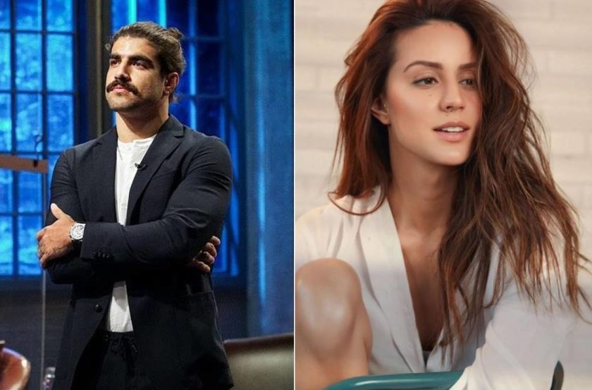 Larissa said that she became involved with Caio when she was between 24 and 25 years old and that the romance lasted a short time, despite being intense.  (Photos: Disclosure)