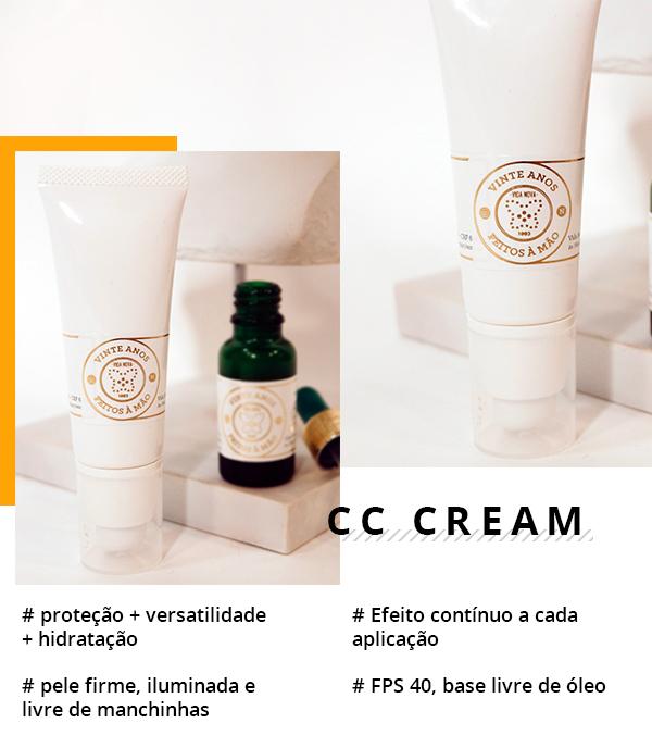 cc cream - pele - medicamento - vida nova - manipulacao