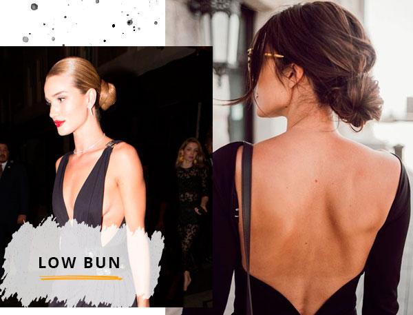 Rosie Huntington-Whiteley - vestido-preto - cabelos - verão - street-style