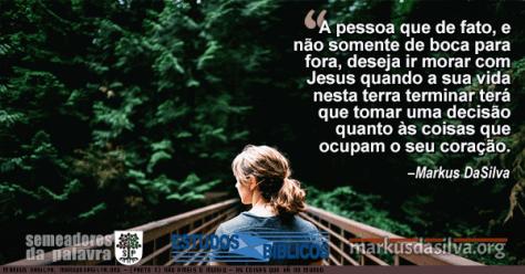 Foto de uma moca caminhando em uma ponte rustica no campo Estudo Bíblico - (Parte 5) Não Ameis o Mundo - As Coisas que Há no Mundo - Markus DaSilva
