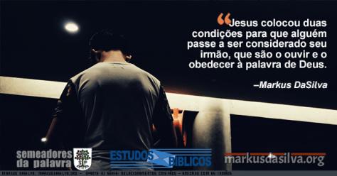 Foto de um homen andando numa noite escura Estudo Bíblico - (Parte 3) Série: Relacionamentos Cristãos - Amizade Com os Irmãos - Markus DaSilva