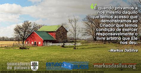 Foto de uma linda casa vermelha no campo Estudo Bíblico Estudo Bíblico - (Parte 1) Série: O Mundo Está Passando. Estudo Nº 1: Os Prazeres do Mundo por Markus DaSilva
