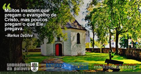 Foto de uma igreja pequena no campo (Parte 12) Serie: Obedecendo a Jesus. A Salvação e a Obediência [Com Áudio] Markus DaSilva