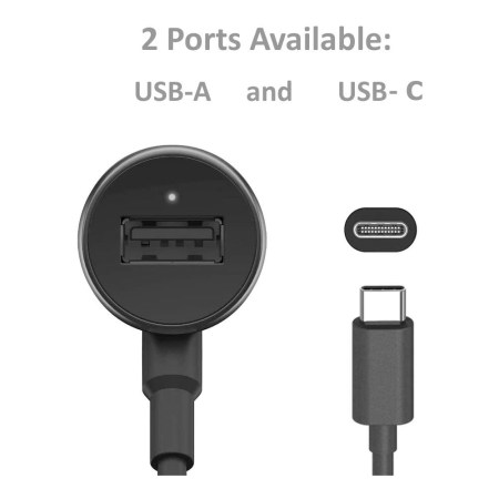 TurboPower 36 Duo Car Charger USB-C