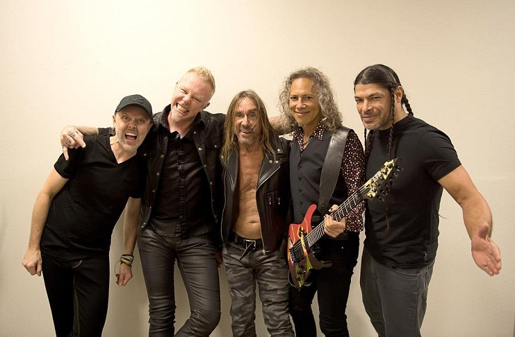 Iggy Pop e Metallica