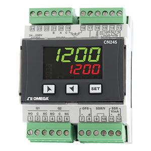 Регулятор температуры и процесса держателя рельса DIN