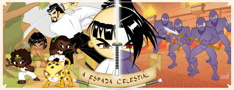 Livro três: a Espada Celestial
