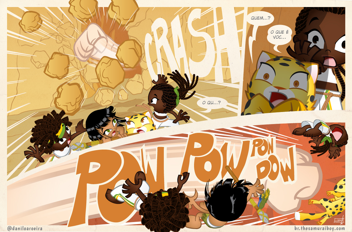 Samurai Boy S03E11 - Crash! Pow!