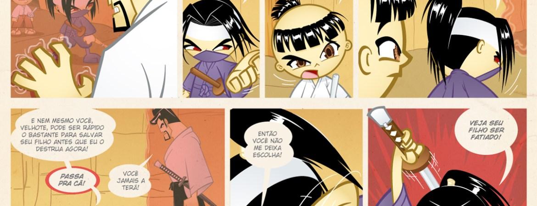 Samurai Boy S03E21 - Você não me deixa escolha