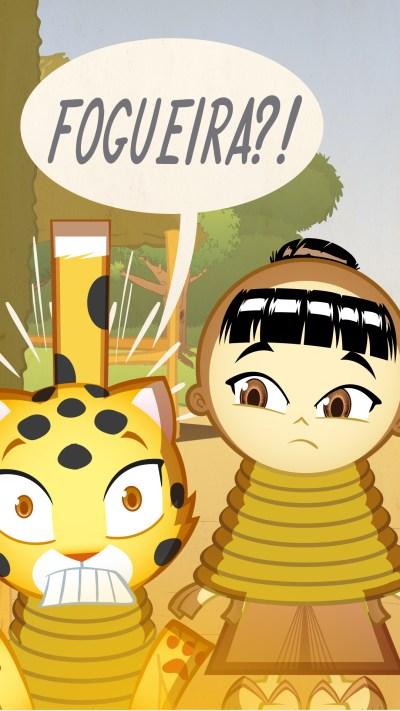 Samurai Boy: ladrão de Javalis teaser 02