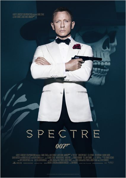 007 Contra Spectre : Poster