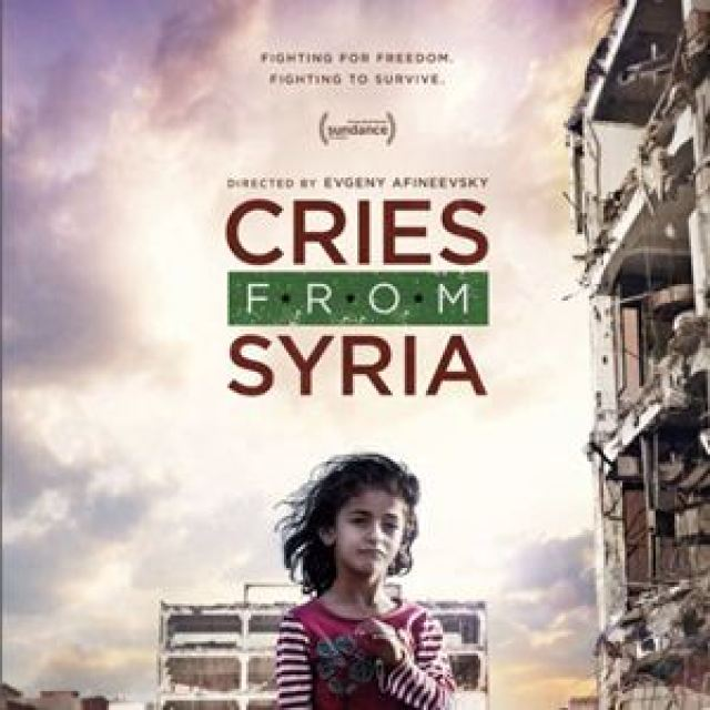 Image result for cries from syria poster