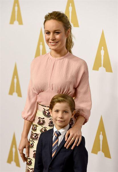 Brie Larson e Jacob Tremblay