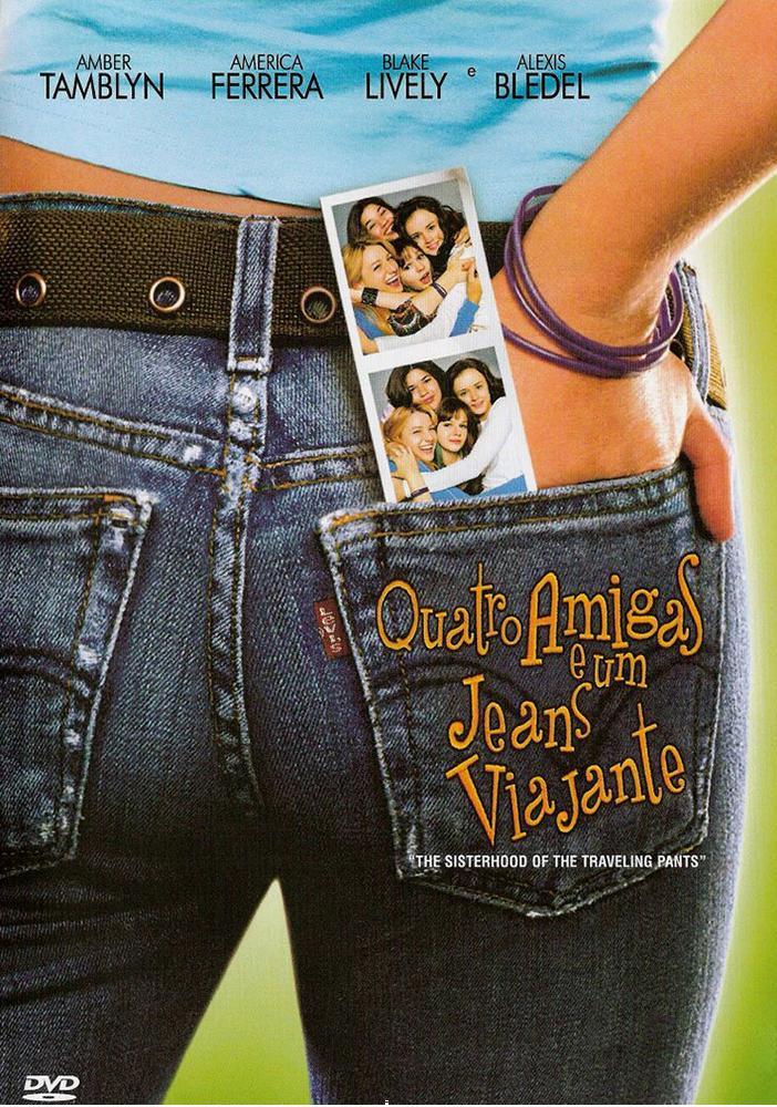 Resultado de imagem para Quatro Amigas e um Jeans Viajante capa