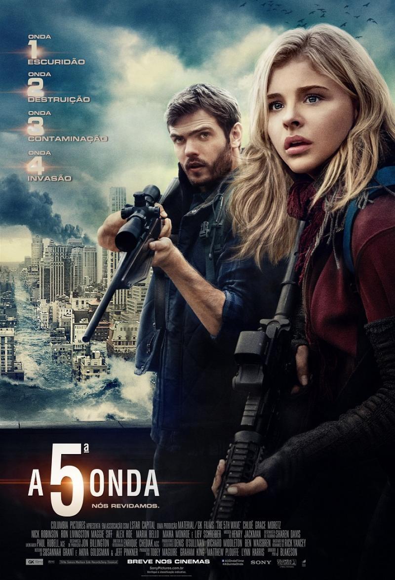 Poster - A 5ª Onda - Divulgação