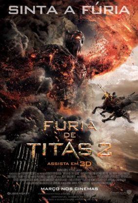 Fúria de Titãs 2 : poster