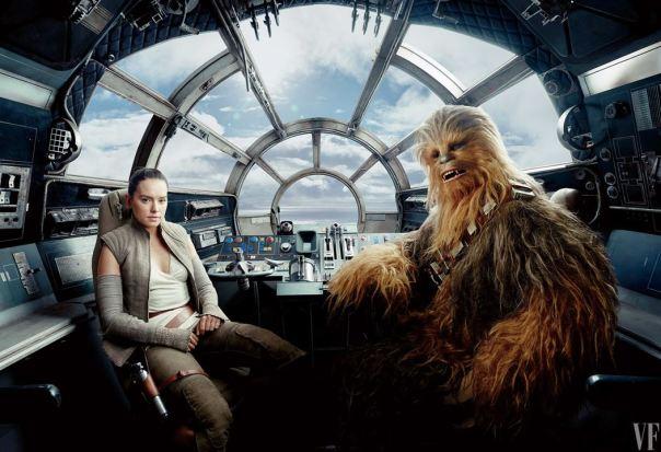 Rey e Chewie