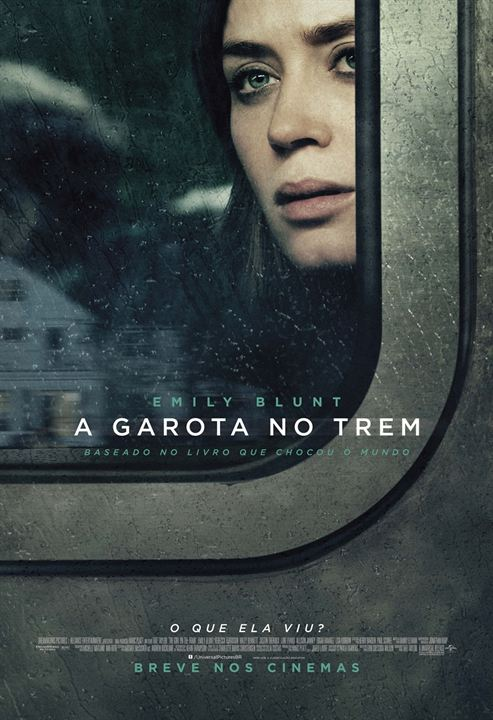 Image result for a garota do trem poster