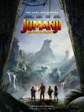 Resultado de imagem para jumanji bem vindo a selva poster