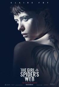 Resultado de imagem para Millenium: A Garota na Teia de Aranha pôster