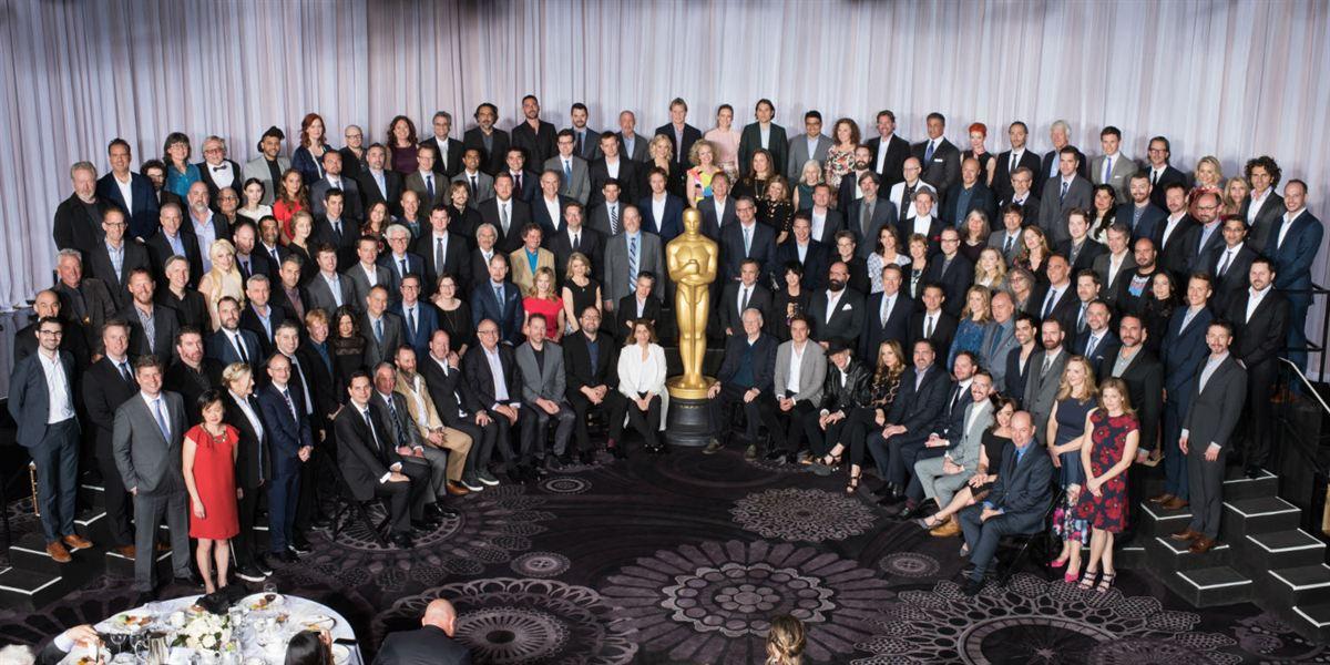 Foto oficial Oscar 2016
