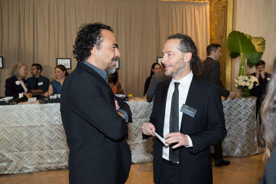 Alejandro Gonzalez Iñarritú e Emmanuel Lubezki