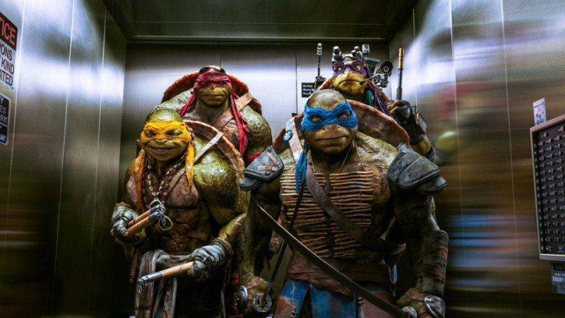 Resultado de imagem para As Tartarugas Ninja filme