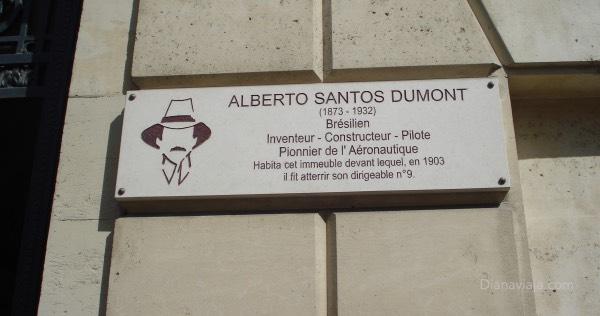 Santos Dumont Paris