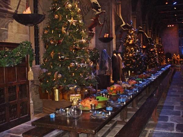 Harry Potter salão principal