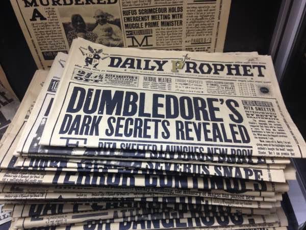 Profeta Diário Harry Potter