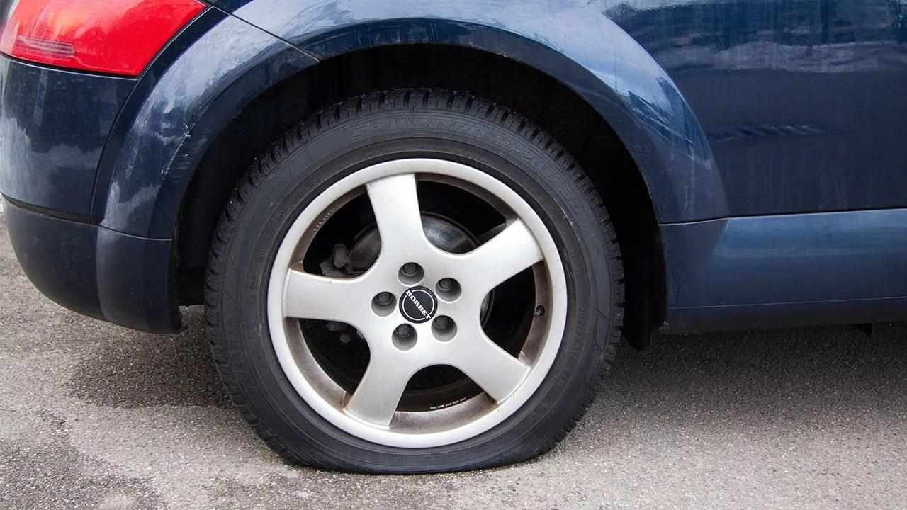 pneu murcho